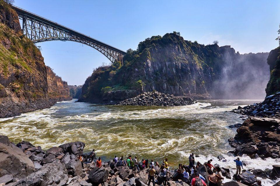 Abseil Victoria Falls