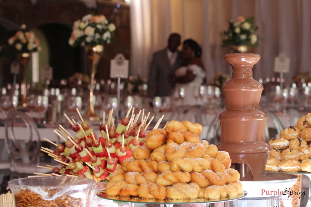 Purple Spring Catering