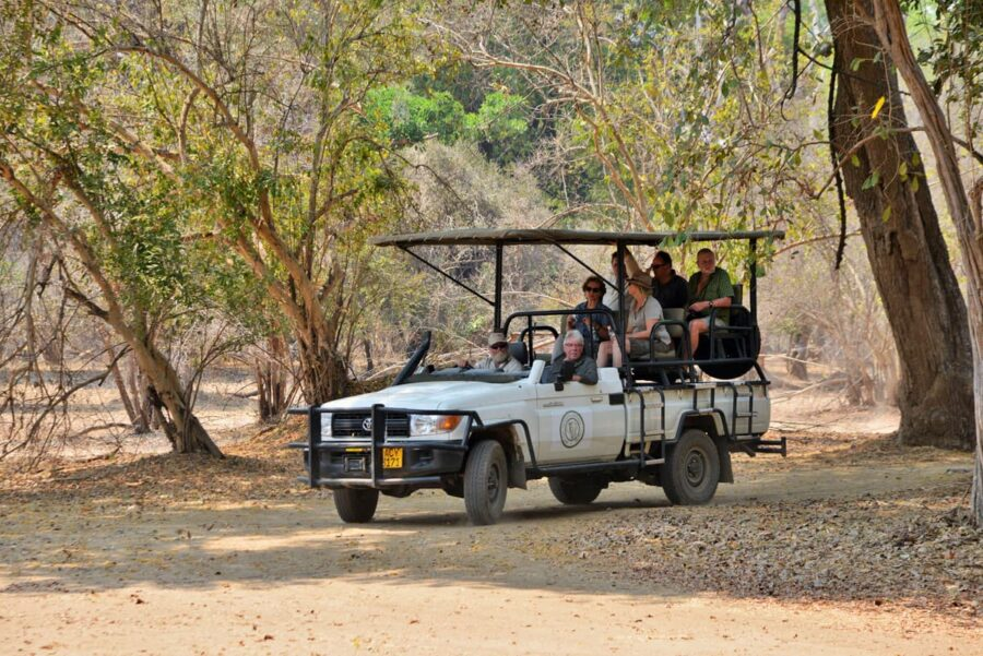 Mana Pools Safari Lodge